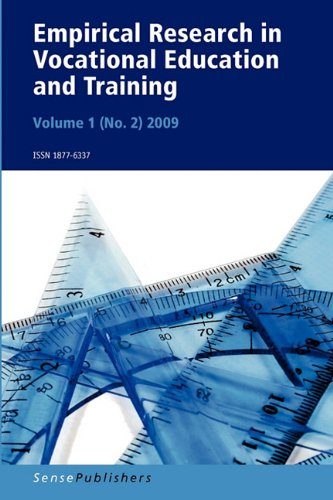 Empirical Research in Vocational Education and Training Vol. 1 (2)