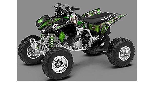Honda TRX 450R gráficos – El Joker – Fondo Negro, Blanco y ...