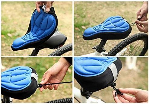 mountain bike Coprisella per bicicletta con cuscinetto in gel morbido per sella in gel rivestimento in gel Movoja coprisella per bicicletta sellino per bici da corsa