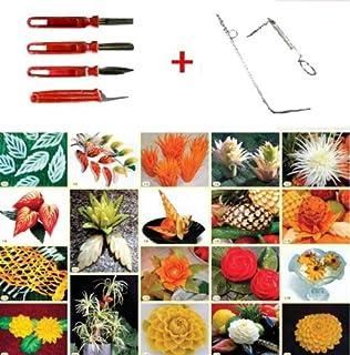 Amazon.com: Set de 3 Thai fruta y cuchillo de trinchar de ...