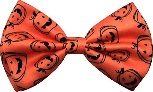 Enimay Halloween Pre-Tied Bow Ties (Pumpkin Bow)