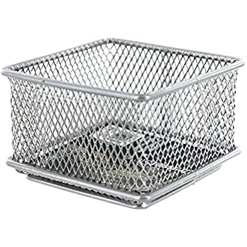 Amazon Com Design Ideas Mesh Drawer Store Silver 3 By 3