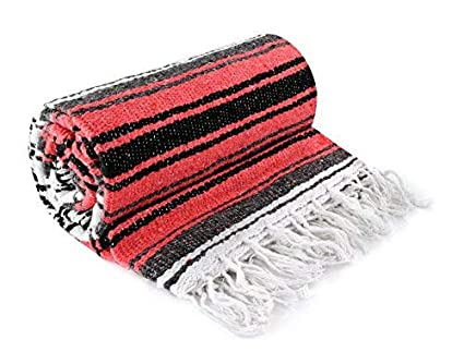 Amazon.com: Serape mexicano para manta, 48.0 in. X 73 ...
