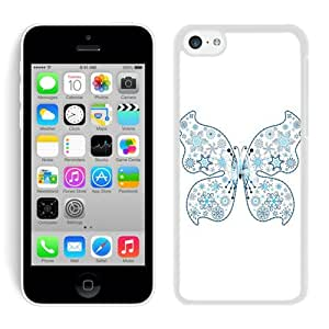 Personalized Iphone 5C TPU Case Merry Christmas White iPhone 5C Case 87