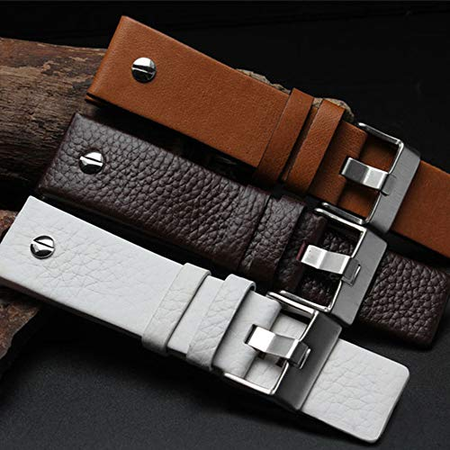 Choco&Man US Genuine Leather Watch Band Strap with Tool Fit for Men's Diesel Watches by Choco&Man US (Image #3)
