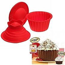 [Free Shipping] 3Pcs Big Top Cupcake Pan Giant Silicone Molds Baking Set // 3 pcs grands moules top gâteau poêle géante de silicone bicarbonate fixés