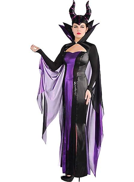 Amazon.com: HalloCostume - Disfraz de mujer maléfico ...