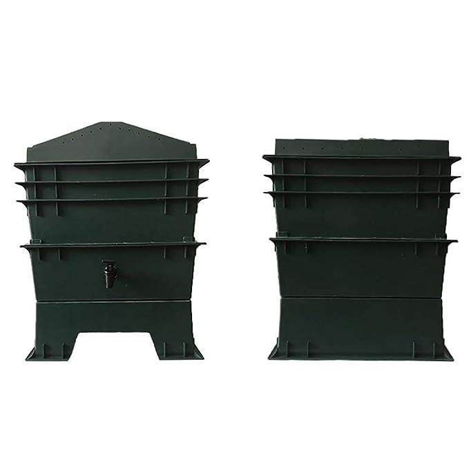 ZDYLM-Y Contenedor de Compost de lombrices, Sistema de contenedor ...