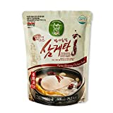 Jayeonabut Fermented Chicken Breast Samgyetang Chicken soup with a feature of health, taste and convenience, 1 box (20 ea)