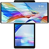 LG Wing 5G T-Mobile Unlocked LMF100TM 6.8 inch 8GB+256GB - Aurora Grey (US Warranty) (Renewed)