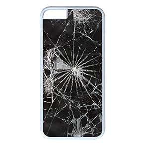 ka ka case unique design personality Evil Wicked Violence Design PC White Iphone 6 Case Broken