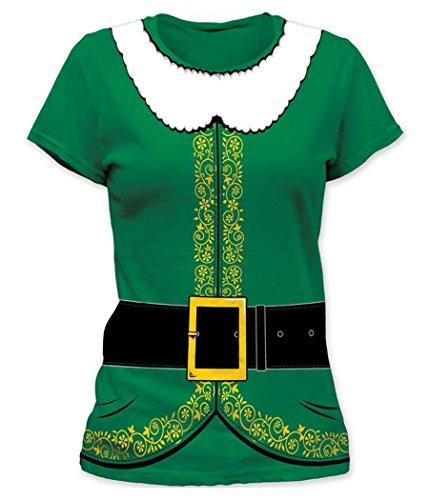 Elf Costume Junior Women's T-Shirt -