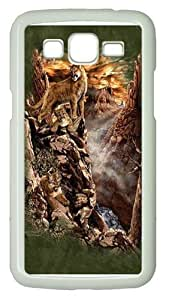 Kids Find 12 Cougars PC Case Cover for Samsung Grand 2 and Samsung Grand 7106 White