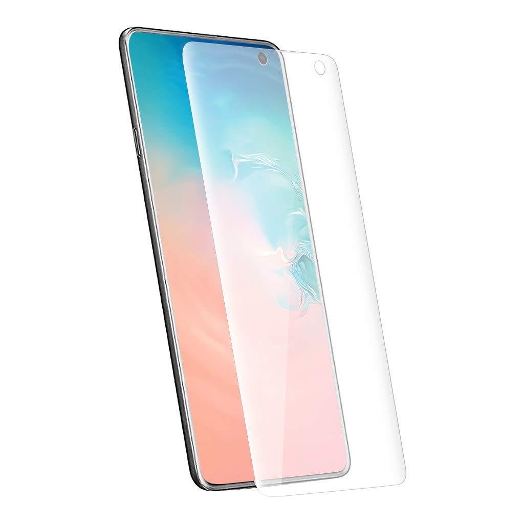 UJUNAOR Bildschirmschutz f/ür S10 6.1 inch Klare Weiche Hydrogel-Folie TPU-Schutzfolie For Samsung Galaxy S10 6.1