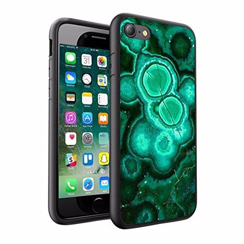 iPhone X Hülle, einzigartige Custom Design Prodective harte zurück dünner dünner Fit PC Bumper Case Kratzfeste Abdeckung für iPhone X - Sea Foam, Marmor Design 043