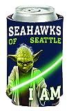 NFL Seattle Seahawks Star Wars Yoda Can Cooler