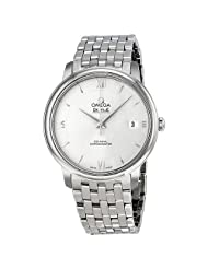 Omega Prestige Co-Axial Automatic Silver Dial Stainless Steel Mens Watch 424.10.37.20.02.001