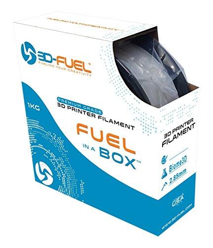 Superior 1 Kg Spool (3D Fuel Printer Filament Natural Biome 3D 2.85mm 1 kg Spool Dimensional Accuracy +/-)