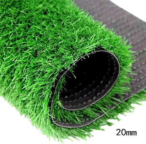 XEWNEG 暗号化された緑の合成芝人工芝カーペットマット屋外バルコニー装飾/ペットマット、杭の高さ20 MM、簡単に掃除 (Size : 2×8M)