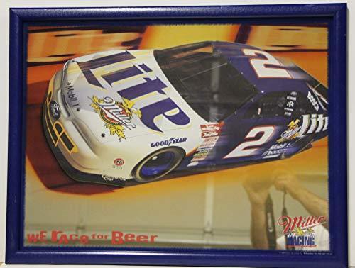 - nascar Miller Lite Racing Mirror Racing Rusty Wallace