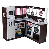 KidKraft Grand Espresso Corner Kitchen Playset