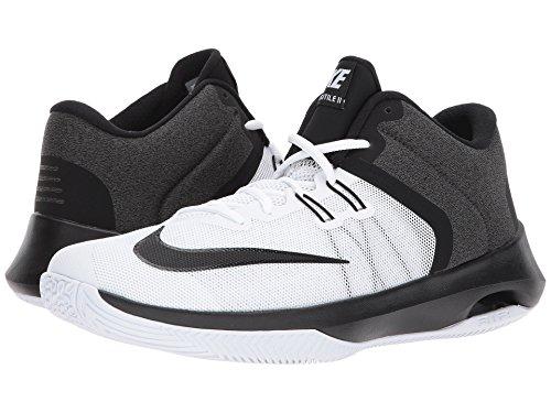 (ナイキ) NIKE メンズバスケットボールシューズ?靴 Air Versitile II White/Black 12.5 (30.5cm) D - Medium