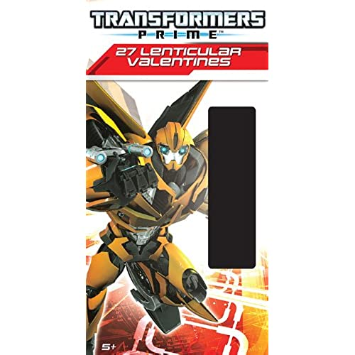 Paper Magic Deluxe Lenticular 3D Valentine Transformers Exchange Cards (27 Count) Sales