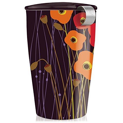 Tea Forte KATI Cup Loose Leaf Tea Brewing System, Poppy Fields