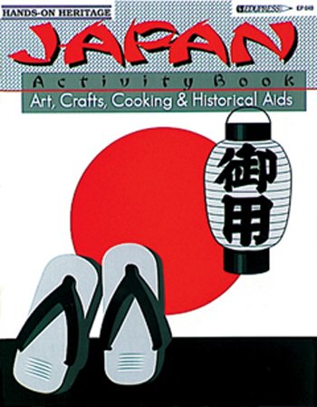 8 Pack EDUPRESS ACTIVITY BOOK JAPAN GR 2-6
