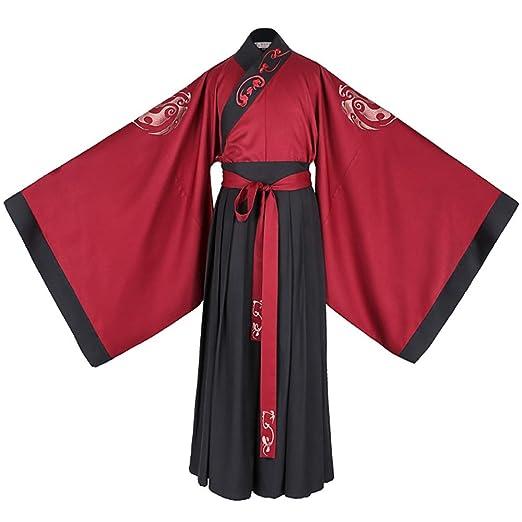 Elegante Traje Retro de Hanfu para Hombre, Disfraz de Cosplay ...