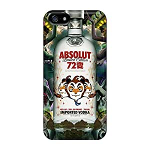 New Cute Funny Absolut Vodka Limited Edition Case Cover/ Iphone 5/5s Case Cover
