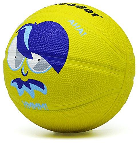Picador Cartoon Design Basketball for Kids Size 3 (Yellow)