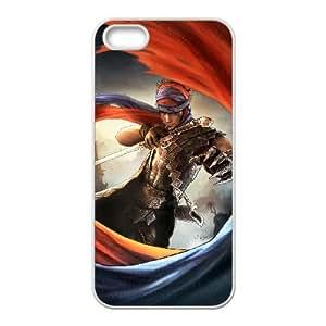 Prince Of Persia 2 funda iPhone 5 5s caja funda del teléfono celular del teléfono celular blanco cubierta de la caja funda EEECBCAAL17992