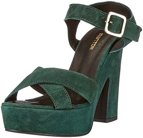040 Femme à Pump Plateforme Mentor Escarpins Vert Green Sandal cSx7tx8qwX