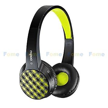 FOME Rapoo S100 Bluetooth moda auriculares inalámbricos estéreo con Builtin Micrófono para iPad iPhone y portátiles