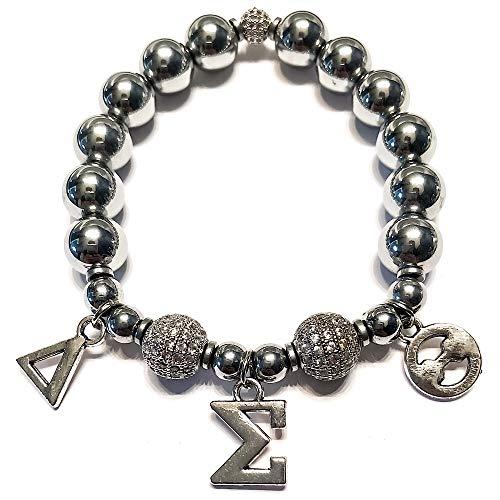 Stonez Delta Sigma Theta Greek Bracelet