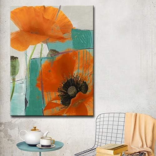 Ready2HangArt 'Painted Petals XXXIII' Canvas Wall Art
