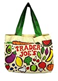 Trader Joe's Heavy Duty Cotton Canvas 'Fresh Produce' Bag Eco-Friendly (Set of 2)