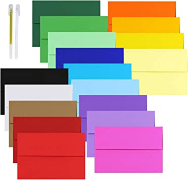 Multi Color Assorted Envelopes for Invitation Wedding Shower Photo A1 A2 A6 A7