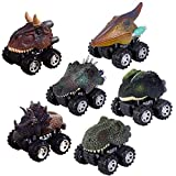 Sporting Style 6 Pack Pull Back Dinosaur Cars Toys for 2-9 Years Old Boys - Dinosaur Vehicles Toys...