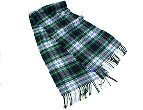 Biddy Murphy Dress Gordon Plaid Scarf Wool Unisex 63