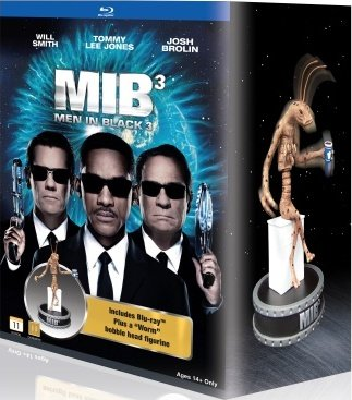 - Men in Black3 : Collector's Edition Bluray with Worm Guy Resin Bobblehead