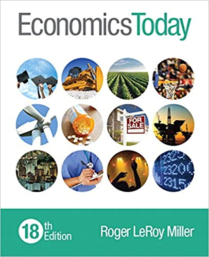 Economics Today 18th Edition 9780133882285 Economics