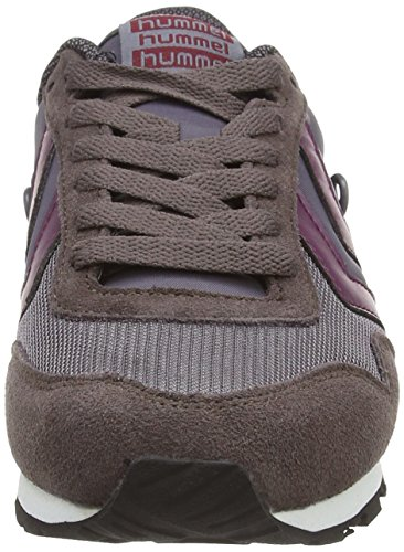 Hummel HUMMEL REFLEX LO - zapatilla deportiva de material sintético Unisex adulto gris - Grau (Shark 2301)