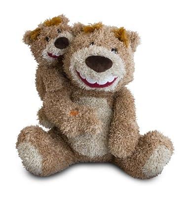 Gund Like Father Like Son Animated Plush Bear, 10-Inch
