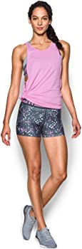 Under Armour Womens Heat Gear Armor Printed Youth Shorts