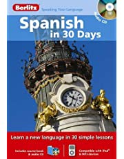 Spanish in 30 Days with Audio CD