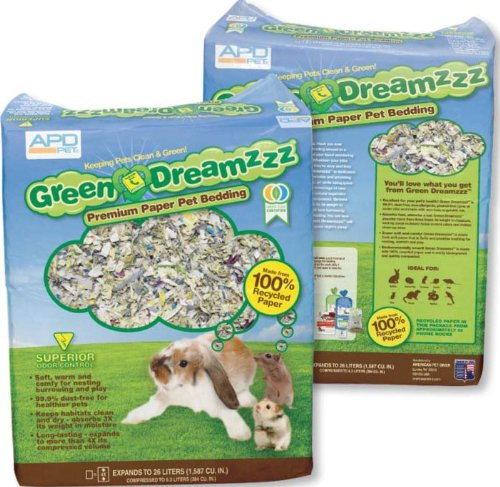 - American Pet Diner Green Dreamz Bedding, 2-Pound