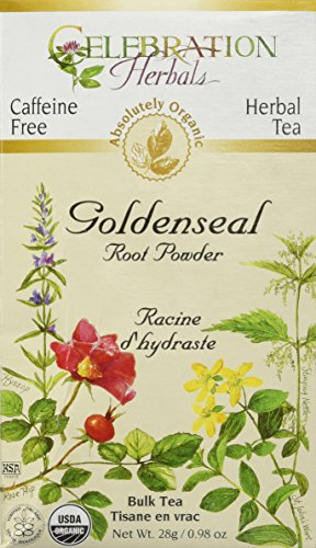 Celebration Herbals Loosepack Goldenseal Organic