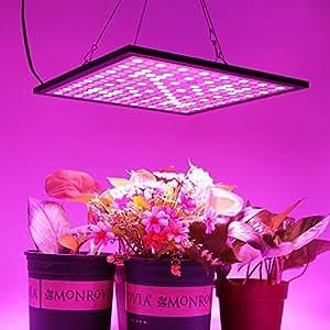 Led plant grow light panel hnhc 45w indoor for Indoor gardening amazon